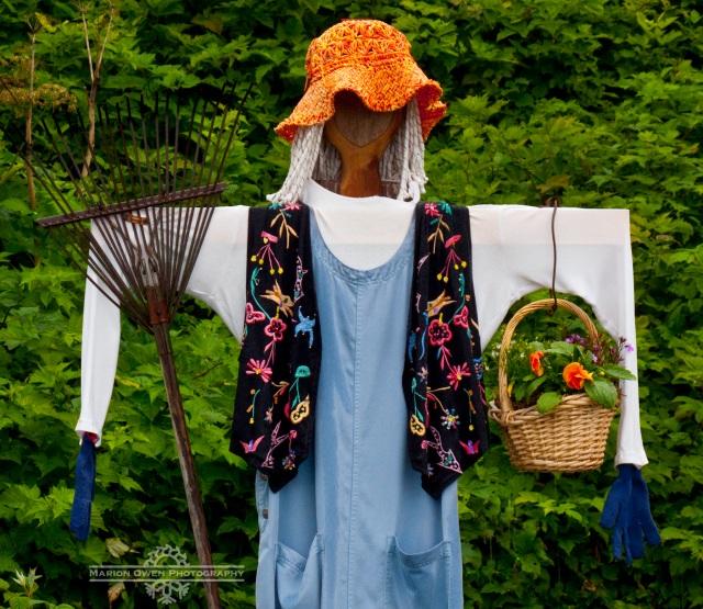 Kodiak, Alaska, garden, gardening, organic, scarecrow, vegetables, Peary, diet, food