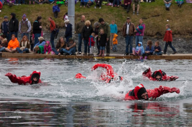 Survival Suit Race, Crab Festival, Kodiak, Alaska, fishing, boats, harbor