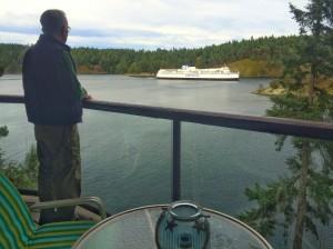 BC ferry, salt spring island, canada