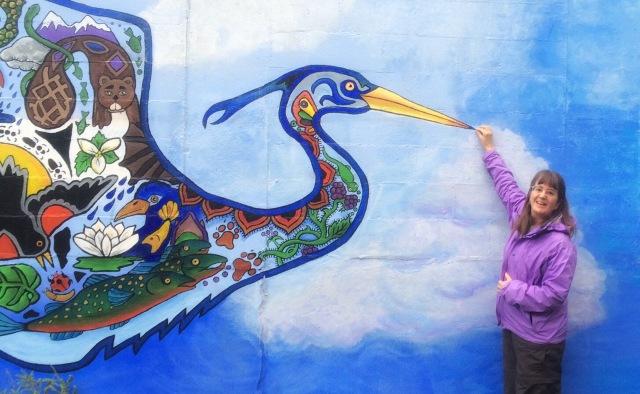murals, art, street, Edmonds, travel