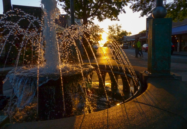 fountain, edmonds, Washington, travel