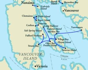 BC ferry, gulf island, travel, Canada, vancouver