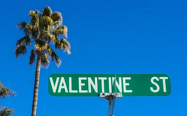 I spotted this street sign in Arizona. Now I'm looking for LOVE STREET. Anyone seen it?