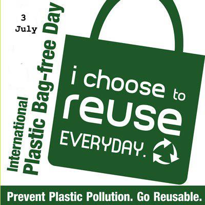 International Plastic Bag Free Day, plastic, pollution