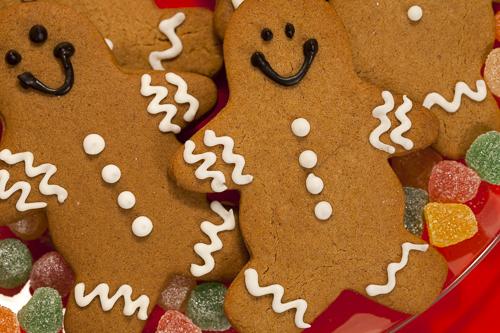 Gingerbread men, cookies, ginger, Christmas cookies, baking