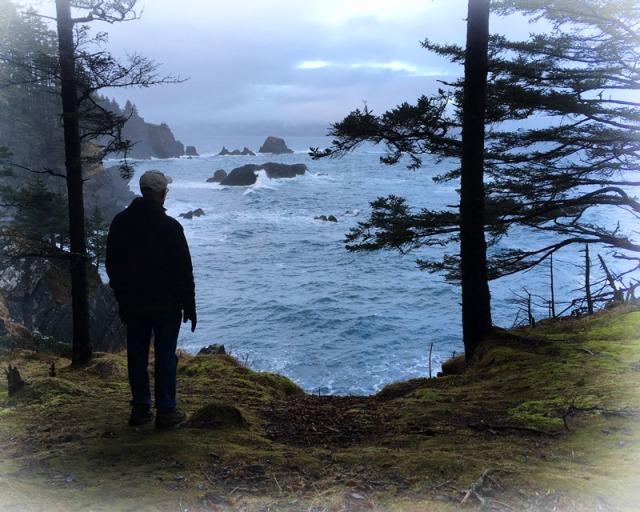 Kodiak, Island, ocean, hiking, park, storm
