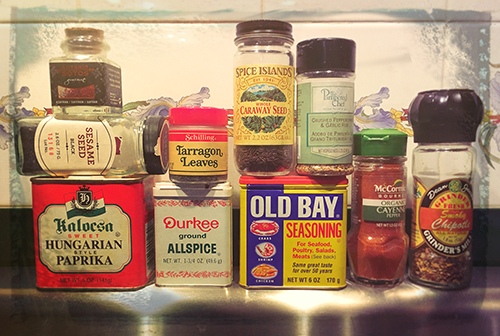 Spice, herbs, how to store, containers, bottles