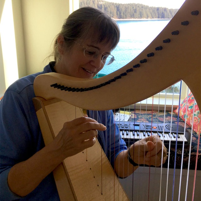 harp, learning, motivation, music, self-worth, talent